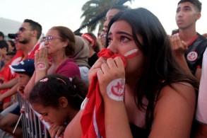 رد فعل مشجعين تونسيين على الخسارة أمام السنغال في أمم إفريقيا