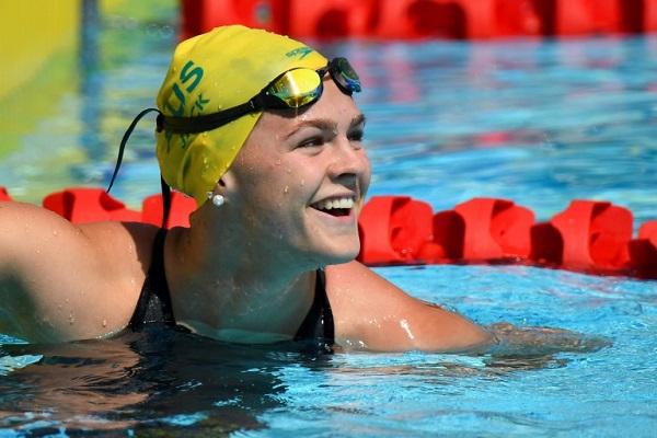 فحص منشطات إيجابي للسباحة الأسترالية شاينا جاك