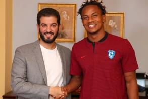 لعب كاريو الموسم الماضي مع الهلال على سبيل الإعارة من بنفيكا البرتغالي