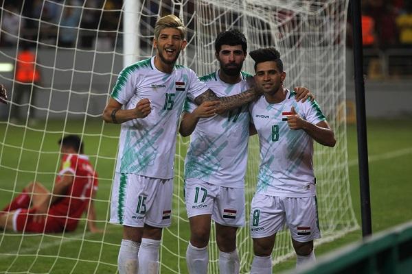 فوز العراق على فلسطين في بطولة غرب آسيا