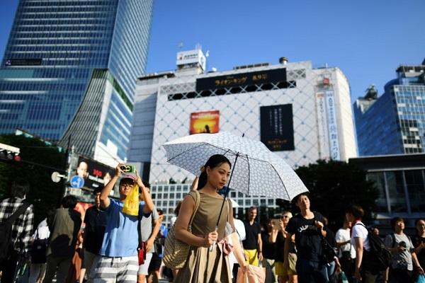 موجة حر تضرب العاصمة اليابانية طوكيو