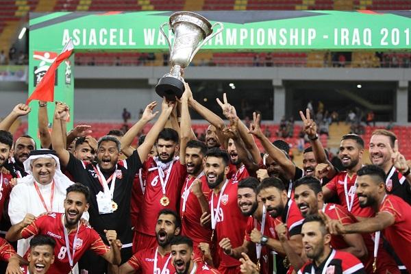 البحرين تهزم العراق وتتوج بلقب بطولة غرب آسيا