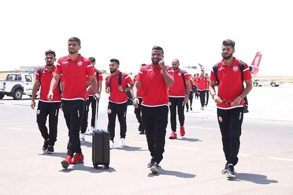 استياء بعثة منتخب البحرين من تأخرها في مطار النجف