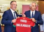 البوسني وحيد هليلهودزيتش مدربا جديدا للمغرب لأربع سنوات