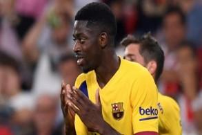 الاصابة تبعد ديمبيلي عن برشلونة حتى خمسة أسابيع