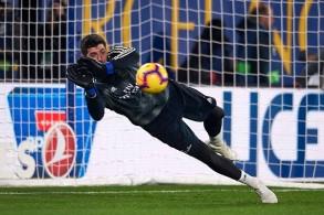 أرقام كورتوا الكارثية في المباريات الإعدادية تهدد مكانته في ريال مدريد