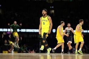 فوز تاريخي لأستراليا على الولايات المتحدة استعدادا لمونديال السلة