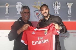 عادل تاعرابت يجدد عقده مع بنفيكا حتى عام 2022