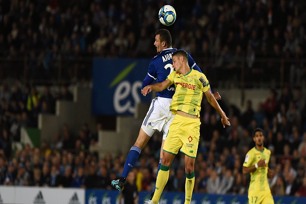 ستراسبورغ يحقق فوزه الأول في الدوري الفرنسي على حساب نانت