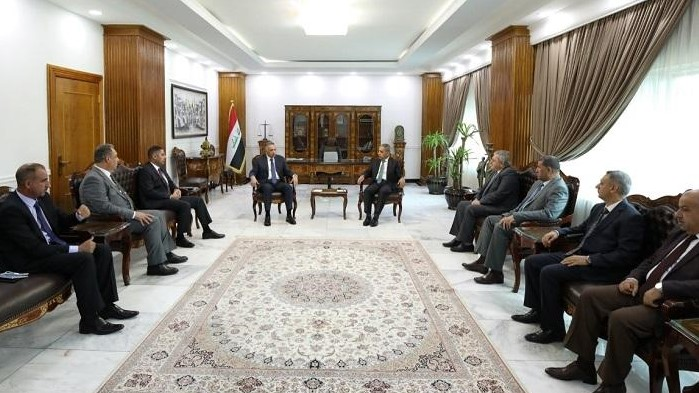 الكاظمي بحث الاحد مع رئيس المجلس الاعلى للقضاء فائق زيدان مكافحة الفساد والجريمة المنظمة