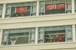 الصينيون ينزلون في الفنادق المجاورة للملاعب لحضور المباريات