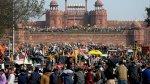 مزارعون غاضبون يشتبكون مع الشرطة بعد اقتحام العاصمة الهندية