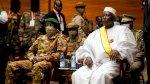 الرئيس الانتقالي في مالي يؤدي اليمين الدستورية