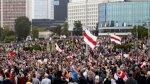 المعارضة البيلاروسية تهتف