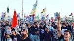 المحتجون يهددون بالزحف إلى بغداد إذا لم تنفذ مطالبهم