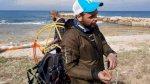 تركي هبط بمظلة على شاطئ جنوب لبنان
