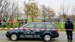رجل يصدم بسيارته بوابة المستشارية الألمانية وسط برلين