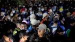 آلاف المهاجرين الهندوراسيين يتمكنون من دخول غواتيمالا