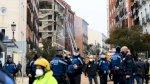 قتيلان على الأقل في انفجار في وسط مدريد