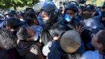 صدامات في تونس بعد وفاة شاب متأثراً بإصابته خلال تظاهرة