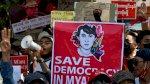 العسكريون يواصلون حملة الاعتقالات في بورما ويواجهون مزيدا من الضغوط