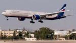 هبوط اضطراري لبوينغ 777 في موسكو بسبب مشكلة في المحرك