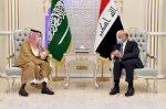 وزيران عراقيان في السعودية لتعزيز العلاقات الامنية والسياسية
