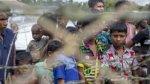 عدد من اللاجئين عبروا الحدود الهندية هربا من الاضطرابات في بورما