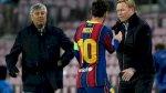 بطولة إسبانيا: كومان غير واثق من مستقبل ميسي مع برشلونة