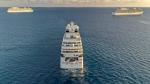 سفن رحلات راسية قبالة سواحل قبرص بانتظار انتهاء أزمة كوفيد-19