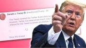 دونالد ترامب وتويتر: الموقع يحجب تغريدة للرئيس الأمريكي تدعو إلى العنف
