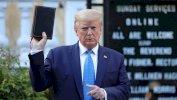 مقتل جورج فلويد: ماذا قصد ترامب حين رفع الإنجيل؟
