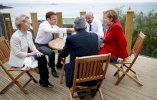 Getty Images لقاء بعض الزعماء الأوروبيين