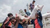 Getty Images يعتمد آلاف المدنيين النازحين بسبب القتال في أمهرة على المساعدات الإنسانية