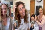 فيروس كورونا: مصففو الشعر يعودون عبر الإنترنت