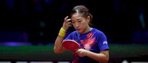 استبعاد بطلة العالم الصينية ليو من مباريات الفردي في كرة الطاولة