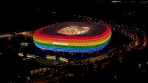 يورو 2020: لماذا رفض اليويفا إضاءة ملعب بألوان قوس قزح؟