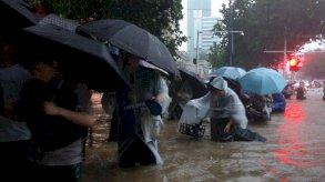 فيضانات الصين: قتلى وإجلاء الآلاف في مناطق البلاد الوسطى