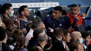 ميسي يُستبدل في أول مباراة له مع باريس سان جيرمان في حديقة الأمراء