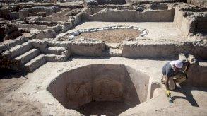 اكتشاف مجمع لصناعة النبيذ عمره 1500 عام في إسرائيل