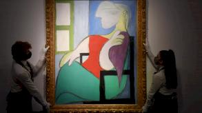 لوحة لبيكاسو بيعت لقاء 103 ملايين دولار خلال مزاد في نيويورك