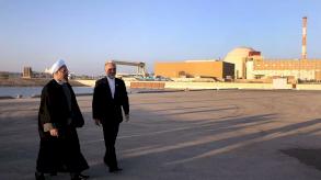 وقف العمل في محطة بوشهر للطاقة النووية في إيران