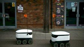 روبوتات التوصيل تغزو الشوارع البريطانية خلال الجائحة