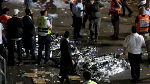 سقوط نحو 44 قتيلاً في تدافع ضخم خلال حجّ يهودي بإسرائيل