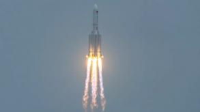 البنتاغون يتابع عن كثب دخول صاروخ صيني إلى الغلاف الجوي