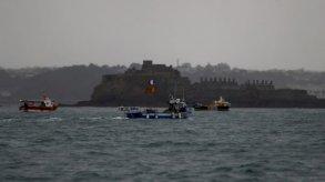 احتجاج نحو 50 قارب صيد فرنسيا عند ميناء جيرسي البريطاني