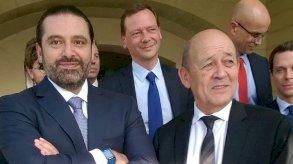 لودريان يبدأ زيارة للبنان في محاولة جديدة للضغط من أجل تشكيل حكومة