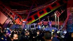 المكسيك ستدفع تعويضات لعائلات ضحايا حادث المترو