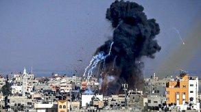 صواريخ حماس تبلغ تل أبيب وقطاع غزة تحت النار