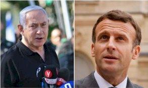 ماكرون لناتانياهو: ضرورة ملحة لعودة السلام في الشرق الاوسط